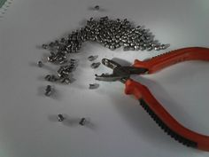 Picture of Airgun pellet mould from cheap pliers
