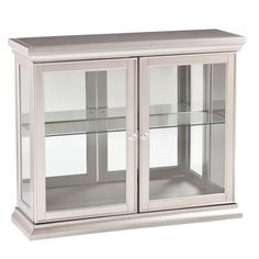 $270 Overstock.com Upton Home Bordeaux Silver Double Door Cabinet - Overstock™ Shopping - Great Deals on Upton Home Coffee, Sofa & End Tables