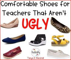 Teachers (and nurses!) are on their feet all day! Having comfortable shoes is a must.but having cute shoes is definitely helpful too! This post shares comfy shoes for teachers that aren't ugly. Source by tanyagmarshall Cute shoes Comfortable Work Shoes, Comfy Shoes, Comfortable Shoes For Teachers, Comfortable Teacher Outfits, Summer Teacher Outfits, Casual Shoes, Best Shoes For Teachers, Buy Shoes, Women's Shoes