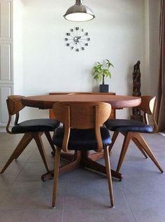 Danish Modern Dining Set