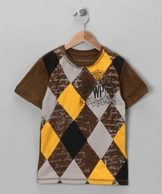 Take a look at this Saddle Best Friend Tee - Boys by Warrior Poet on #zulily today!