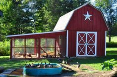 country chicken coop