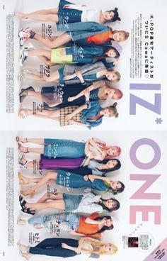 [📷SCANS] 19/08/06 IZ*ONE for Scawaii Magazine September 2019 Issue  #아이즈원 #IZONE Kpop Posters, Japanese Girl Group, Kpop Groups, Mini Albums, Kpop Girls, My Girl, Magazines, September, Comic