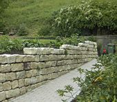 Natursteinmauer / wall with natural stones