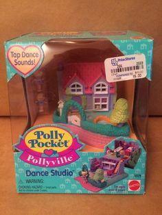 Polly Pocket Pollyville Dance Studio 14529 | eBay