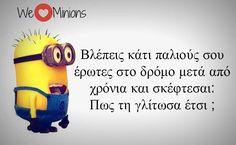 (10) Twitter I Smile, Make Me Smile, Minions, Funny Statuses, Jokes, Humor, Fictional Characters, Inspiration, Greek