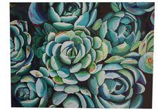Acrylic Succulents #1