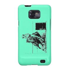 Barrel Racing Horse by WoofNWhinny* cell phone cases.  #horse #barrelracing #cellphone  #horselover