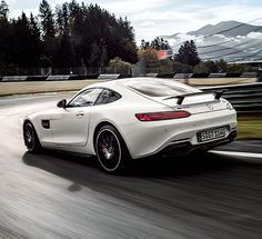 DC meets GT: David Coulthard meets the Mercedes-Benz AMG GT.