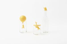 Nendo's Delightful 'Winnie The Pooh' Glassware For Walt Disney Japan - DesignTAXI.com