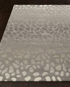 Pebblebrook Rug.  Dressed in a modern pattern inspired by fashion and nature, this truly unique rug brings simplicity, elegance, and beauty to any room.