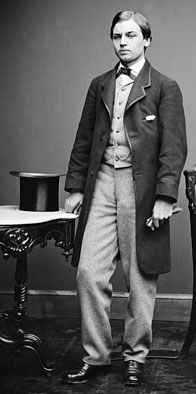 """According to """"The Gentlemen's Book of Etiquette,"""" the first rule of guidance for the 1860s Victorian gentleman in matters of clothing is, """"Let the dress suit the occasion."""" It is advised that it is just as absurd for a man to go into the street in the morning with his dress coat, white kid gloves, and dancing boots, as it is for a lady to promenade the fashionable streets in full evening dress."""