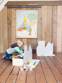 Build a DIY toy chest that doubles as a toy!