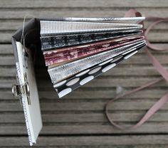 Andenkenalbum aus der Papierwerkstatt - Tutorial