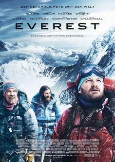 EVEREST Movie starring Jason Clarke, Josh Brolin, Jake Gyllenhaal - Universal Pictures - kulturmaterial - Poster