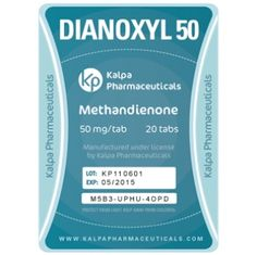 Legit Kalpa Dianoxyl 50 dosed at 50 mg/tab (Methandienone). Purchase it on-line in our Store! #dianoxyl #kalpa #testosterone #steroids #anabolics