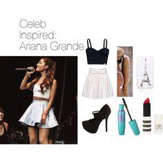 """Celeb Inspired: Ariana Grande #2"" by mustachecastache98 on Polyvore"