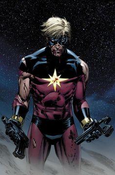 Captain Marvel By Lee Weeks