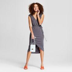 A New Day Women's Sleeveless Knit Wrap Dress