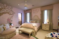I adore this whimsical little girls room!