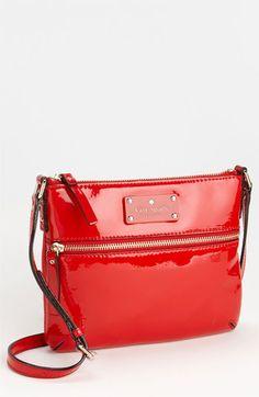 kate spade new york 'flicker - tenley' patent crossbody bag | Nordstrom