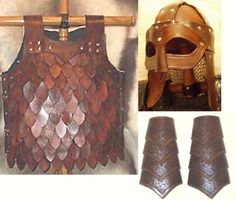 Next on my list of things to make. Viking armor.  valhalla leathercraft