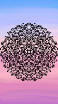 Wallpaper Whatsapp Mandalas Ideas For 2019 Wallpaper Backgrounds, Iphone Wallpaper, Flower Wallpaper, Art Drawings Beautiful, Art Carved, Mandala Drawing, Pretty Wallpapers, Mandala Design, Pattern Wallpaper