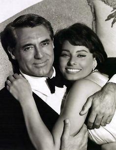 Cary Grant & Sofia Loren