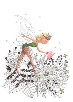 Flora series The Leaf Fairy