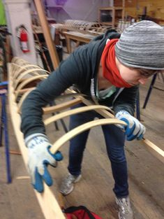 Selkie's New Skin: Building My West Greenland Replica Skin-on-Frame Kayak | Throw Me In The Ocean Wooden Kayak, Wooden Boats, Kayak Boats, Canoe And Kayak, Wooden Boat Building, Kayaking Gear, Carpentry Projects, Dinghy, Small Boats