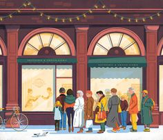 We were commissionned by Kostar Magazine to illustrate a series of illustrations for their last winter issue.