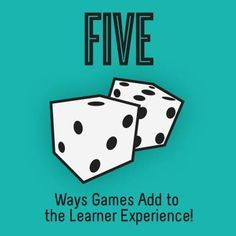 5 Ways Games Add to the Learner Experience - can you incorporate any in your next course? #edtech