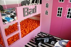 Ball Pit Room for Kids... The heck with kids I want!!!