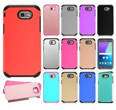 reputable site 4f20f 2a9c8 Samsung Galaxy J3 Emerge Credit Card Pocket and Stand Rugged Case ...