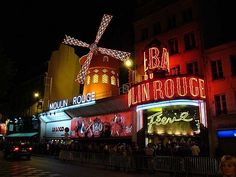 Moulin Rouge, Paris France