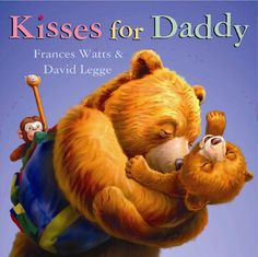 When a grumbly Baby Bear refuses to give his father a goodnight kiss, their bedtime routine is transformed into a delightful game, as Daddy imagines all the different sorts of kisses that other animal babies give their dads: Fathers Day Pictures, Children's Picture Books, Birthday Gifts For Kids, Day Book, Bedtime Stories, Book Gifts, Fun Gifts, Diy For Kids, 4 Kids