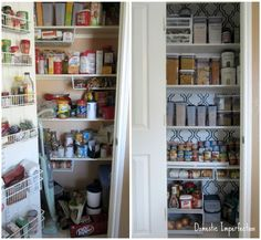 The Less Mess Project: Pantry Reveal! — Domestic Imperfection
