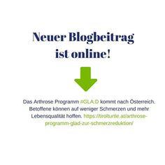Das Arthrose Programm #GLA:D kommt nach Österreich. Es ist ein in Dänemark entwickeltes Trainingsprogramm dass Betroffenen auf mehr Lebensqualität und weniger Schmerzen hoffen lässt. Die Fachhochschule St. Pölten Gesundheit ist daran federführend beteiligt.  #arthrose #knorpel #knorpelabbau #gelenkverschleiss #gelenke #coxarthrose #gonarthrose #rizarthrose #endoprothese #totalendoprothese #künstlichesgelenk #schmerzen #gelenkschmerzen #schmerzmittel #orthesen #ernährung #bewegung #behandlung… Training, Pray, Health, Exercise, Workouts, Physical Exercise