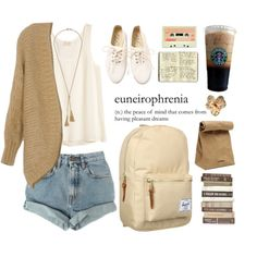 """campus coffee run"" by fjbarkley on Polyvore"
