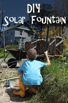This is a straightforward project that you can put together in an afternoon. With a solar panel, a pump, some wiring, and PVC piping, the kids can enjoy creating a whole variety of fountain designs to cool off in.  Since it's solar-powered, it's 100% sustainable! Fountain Design, Engineering Projects, Diy Electronics, Solar Panels, Solar Power, Pump, Raspberry, Coding, Cool Stuff