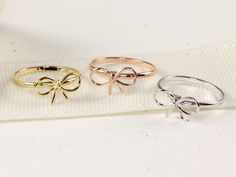Wired adjustable Bow Ring