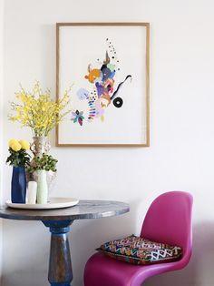 The St. Kilda apartment of Melbourne artist Miranda Skoczek. Photo - Eve Wilson. Production – Lucy Feagins / The Design Files.
