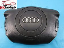 AUDI A4 A6 S4 LEFT DRIVER SIDE STEERING WHEEL AIR BAG W/ PHONE CONTROL OEM