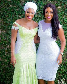 Steal the spotlight with your wedding guest outfit that won't overshadow. With weddings being such celebrated and memorable occasions your outfit needs to be just as special and memorable as… Short African Dresses, African Lace Styles, African Wedding Dress, Latest African Fashion Dresses, Lace Dress Styles, African Traditional Dresses, African Attire, Wedding Attire, Bridesmaid Dress