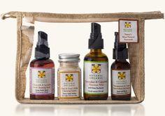 Botanic Organic plant based skincare | Facial products gift pack