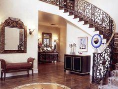 Gorgeous stair rail