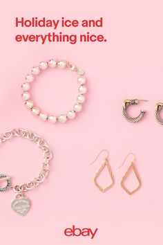 Add extra sparkle to your holiday looks with accessories made to dazzle. With so many gorgeous necklaces, earrings, bracelets and rings to choose from, you'll be totally ready to steal the show this season. Find your holiday style on eBay.
