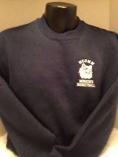 UCONN Huskies,WOMEN'S BASKETBALL, Medium, cotton blend, blue, sweatshirt, Navy,