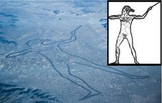 The Mysterious Marree Man of Outback Australia: Largest Geoglyph in the World.