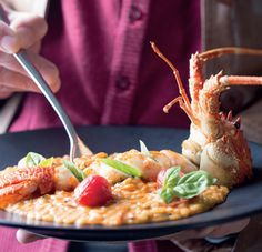 This flavoursome risotto by chef George Jardine promises layers of smokiness and fragrant crayfish that will impress any guest.